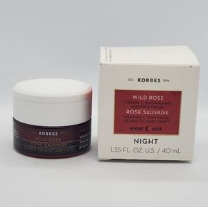 Korres Wild Rose sleeping facial NIB